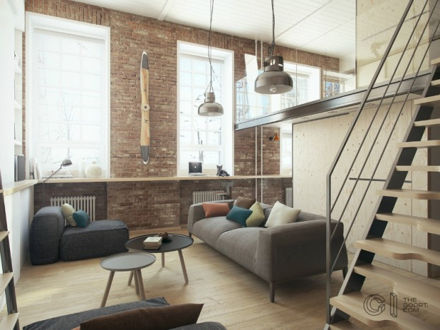 modern small loft jakyri's apartmnt 2