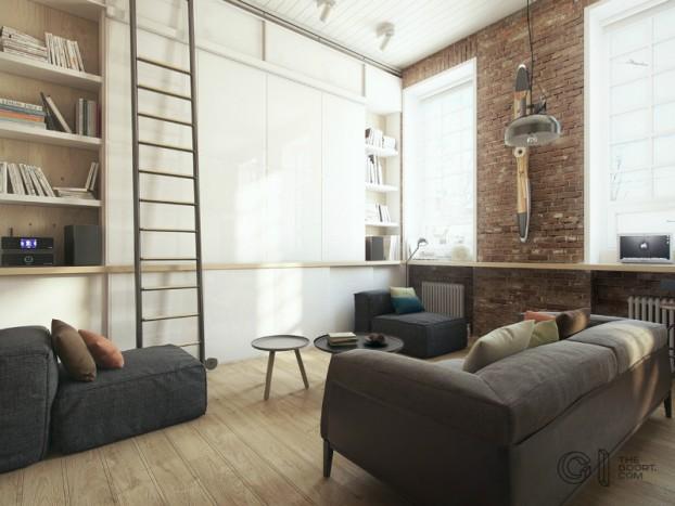 modern small loft jakyri's apartmnt 4