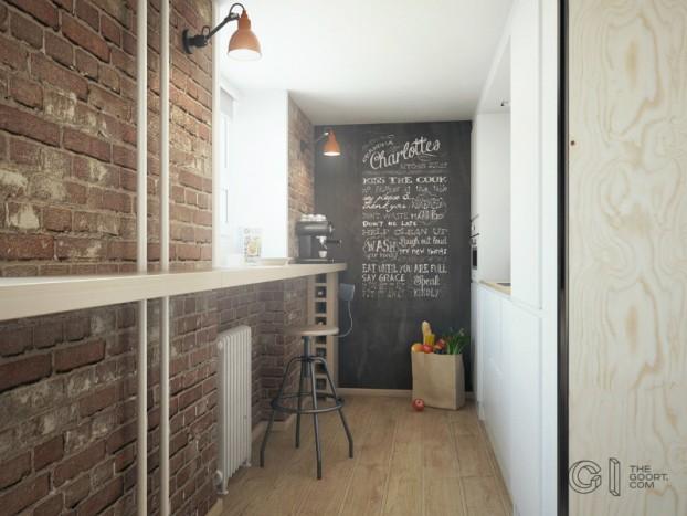 modern small loft jakyri's apartmnt 5