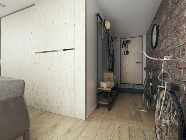 modern small loft jakyri's apartmnt 7