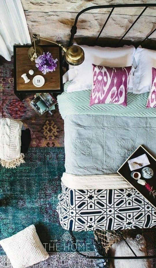 bohemian bedroom ideas 10
