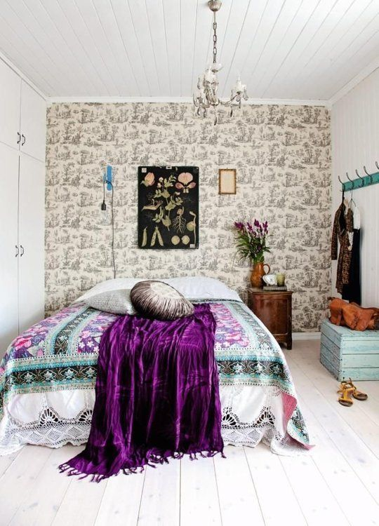 Genial Bohemian Bedroom 15 Ideas