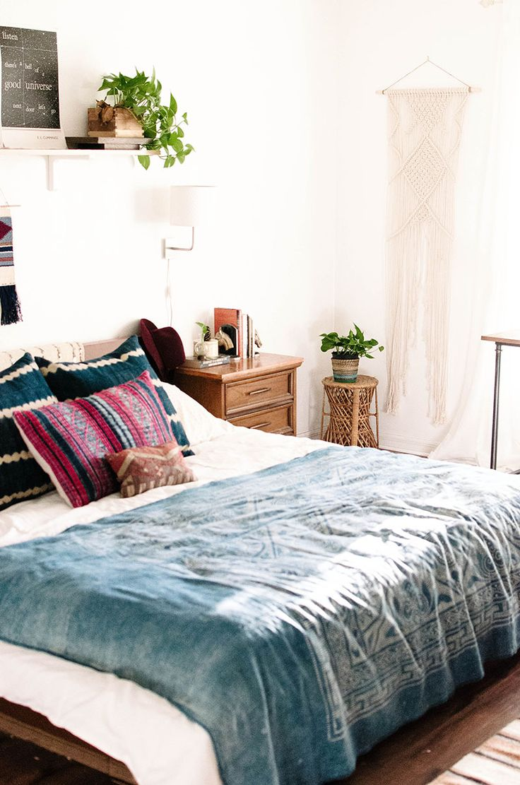 31 bohemian bedroom ideas decoholic for Bedroom ideas boho