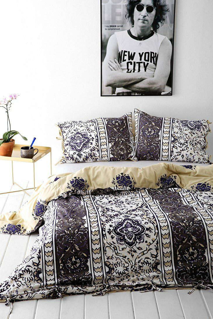 31 bohemian bedroom ideas decoholic for Chambre a coucher vintage