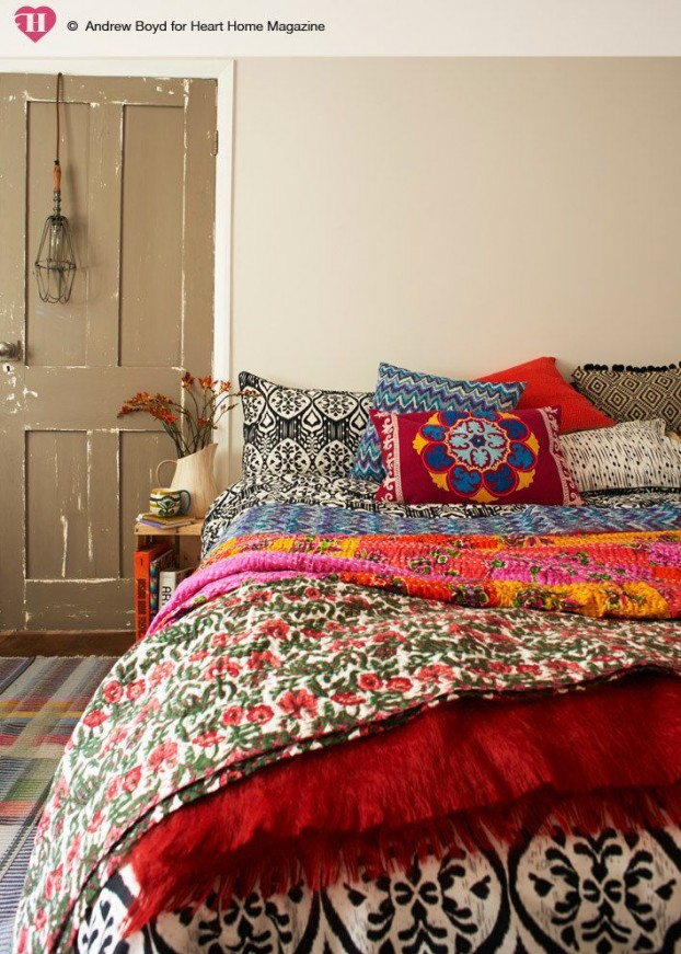 terrific cute bohemian bedroom ideas | 31 Bohemian Bedroom Ideas - Decoholic