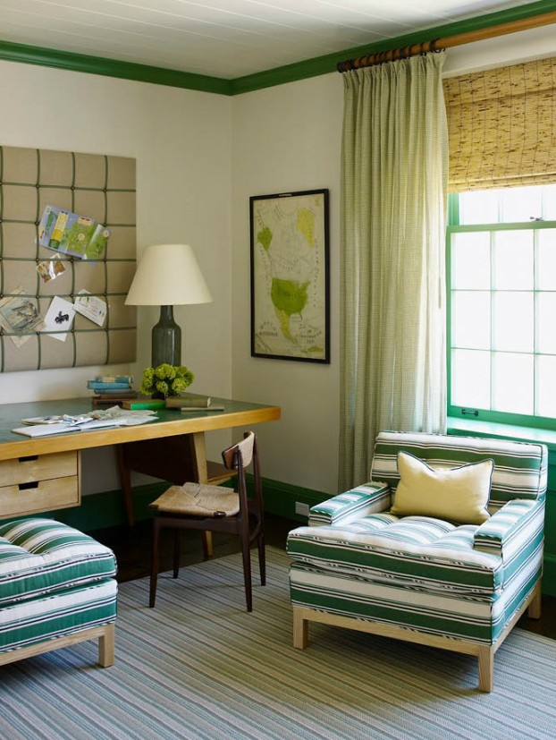 interiors are decorated with assemblage of warm textiles, vintage furnishings, and custom goods 15