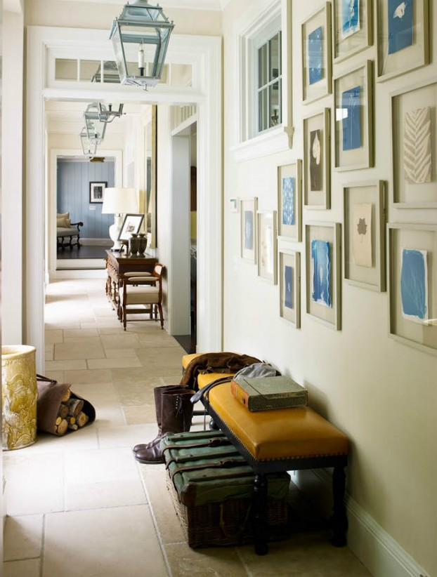 interiors are decorated with assemblage of warm textiles, vintage furnishings, and custom goods 18