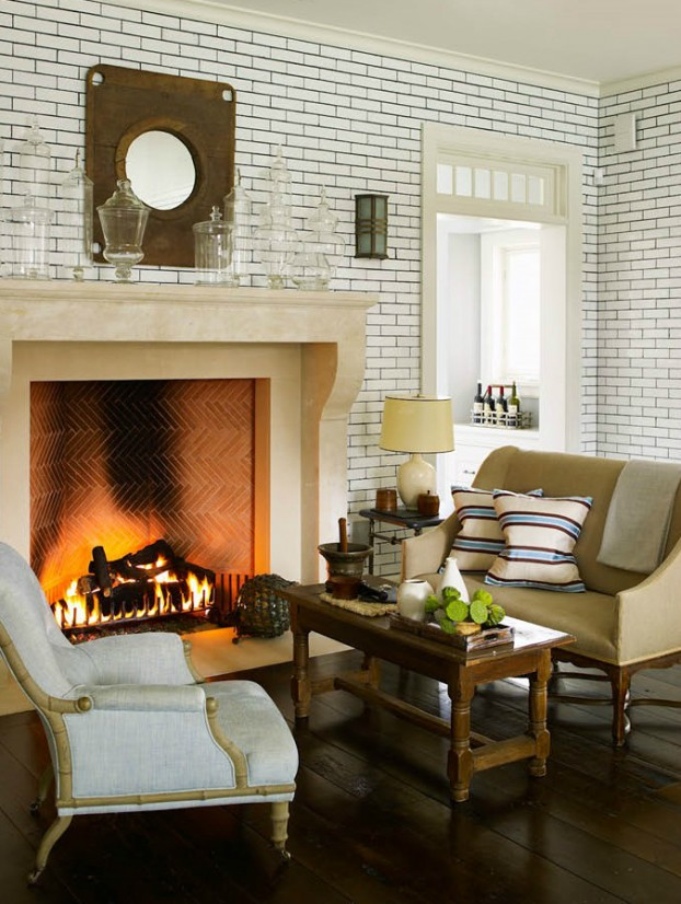 interiors are decorated with assemblage of warm textiles, vintage furnishings, and custom goods 5