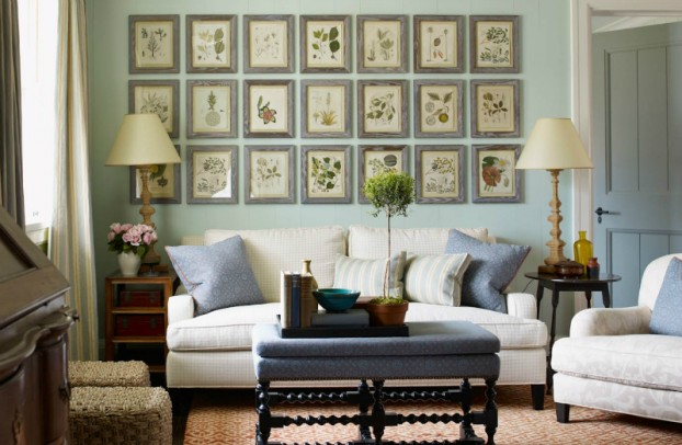 interiors are decorated with assemblage of warm textiles, vintage furnishings, and custom goods 6