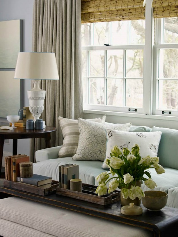 interiors are decorated with assemblage of warm textiles, vintage furnishings, and custom goods 7