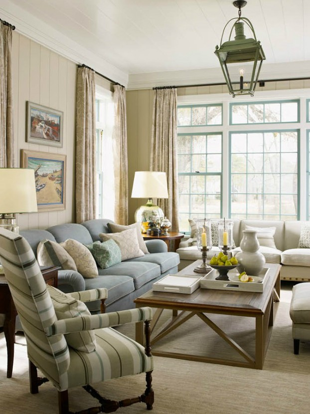 interiors are decorated with assemblage of warm textiles, vintage furnishings, and custom goods 9
