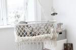 Macrame Hanging Crib