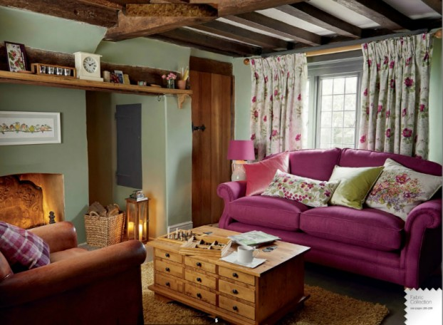 New Laura Ashley Fall Winter Catalogue Decoholic - Laura ashley living room purple