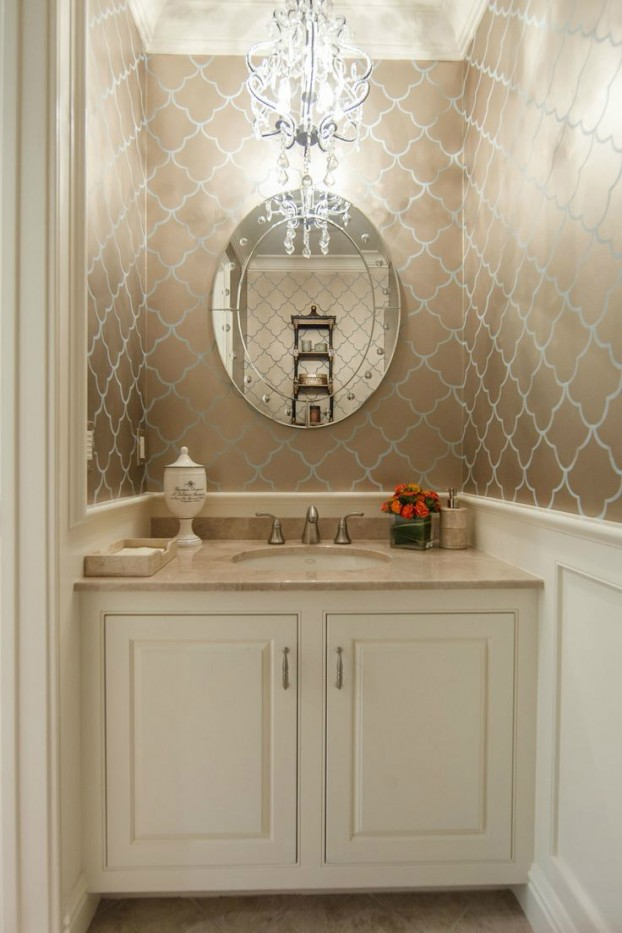 28 powder room ideas decoholic for Powder room bathroom ideas