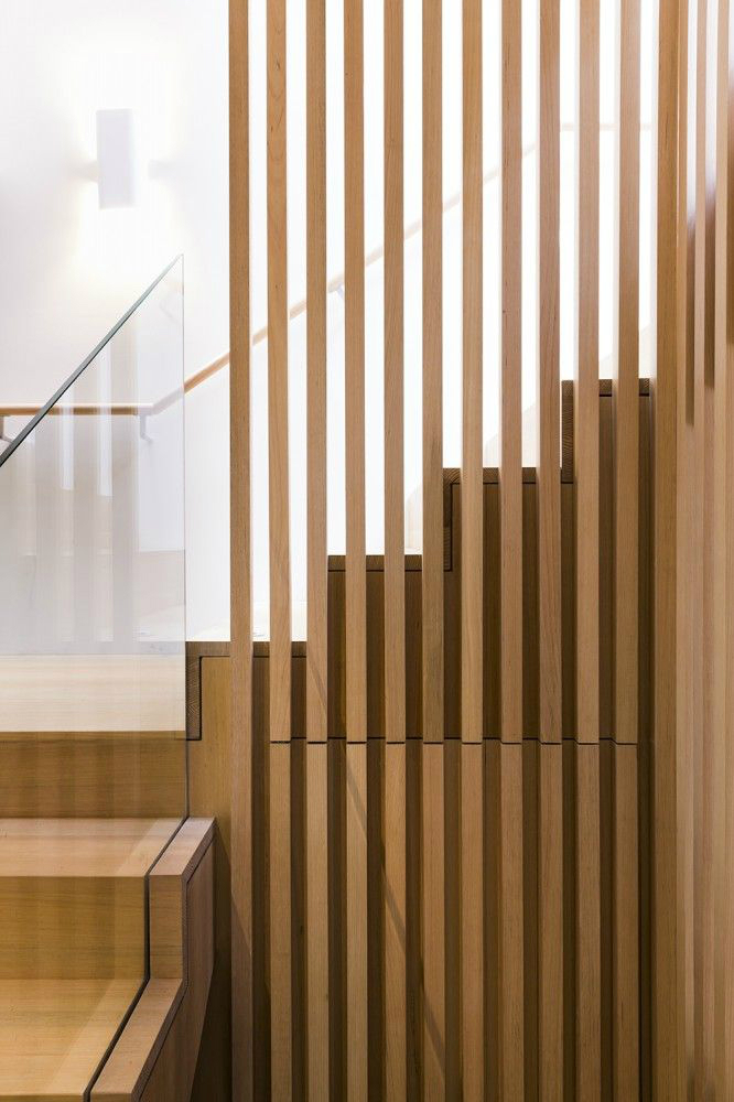 special interior stair rails with wood