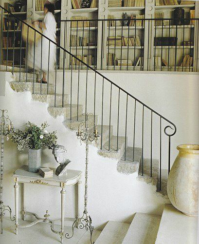 forged iron stair rails