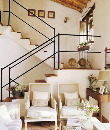 47 stair railing ideas decoholic for Escaleras de salon