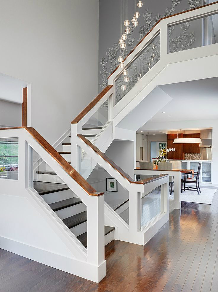 staircase ideas 47 stair railing ideas decoholic 3697