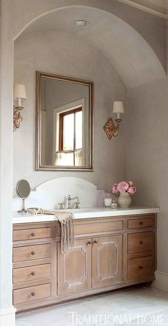 Fancy bathroom vanity
