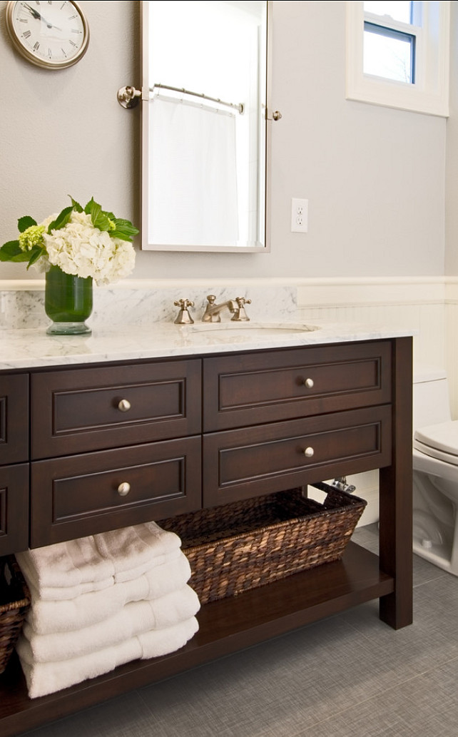 Trend bathroom vanity