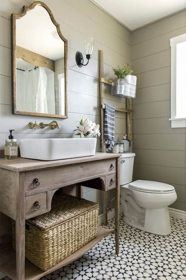 Bathroom Vanity Plans: 26 Bathroom Vanity Ideas