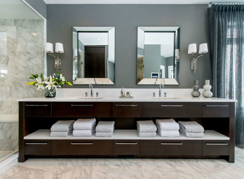 26 bathroom vanity ideas decoholic Double vanity ideas bathroom