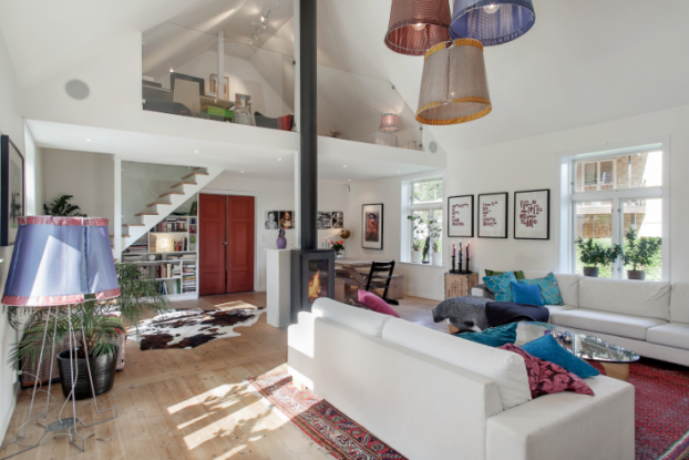 Salvation Army Auditorium Turned Into a Charming Family Home