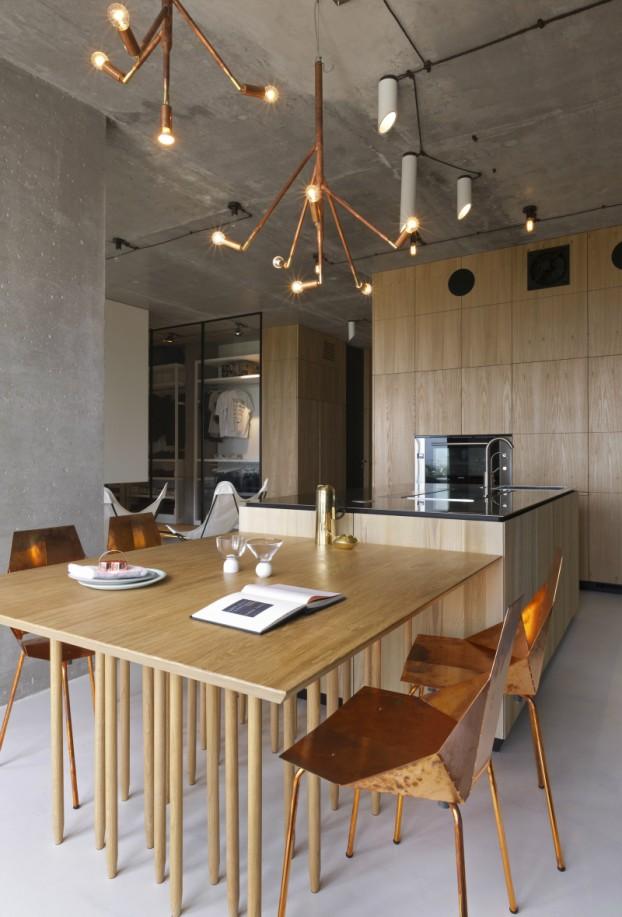 unique contemporary modern penthouse interior design 10