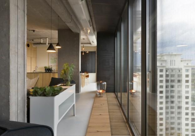 unique contemporary modern penthouse interior design 12