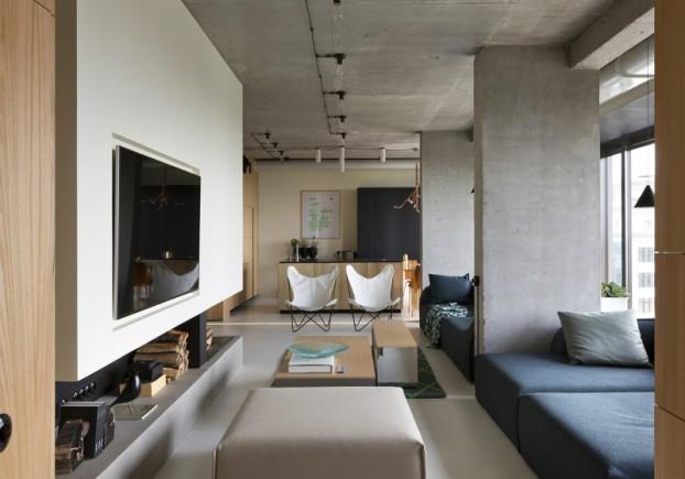 unique contemporary modern penthouse interior design 14