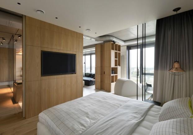 unique contemporary modern penthouse interior design 16