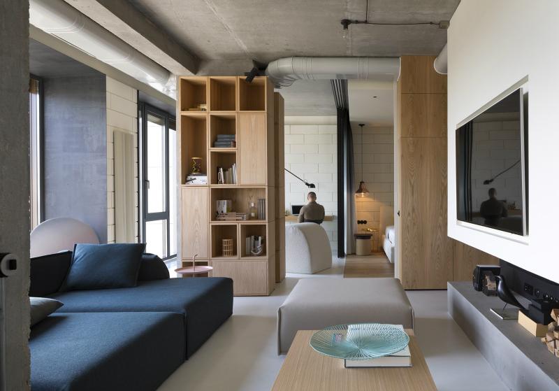 unique contemporary modern penthouse interior design 2 - Interesting Interior Design