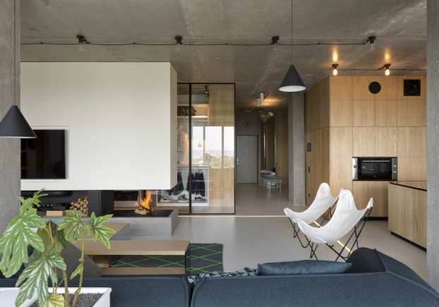 unique contemporary modern penthouse interior design 3