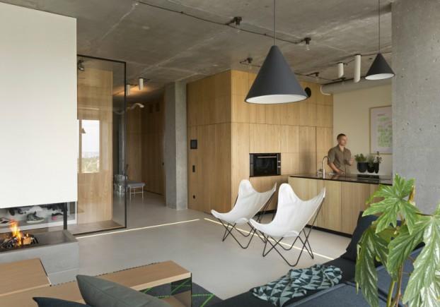unique contemporary modern penthouse interior design 4