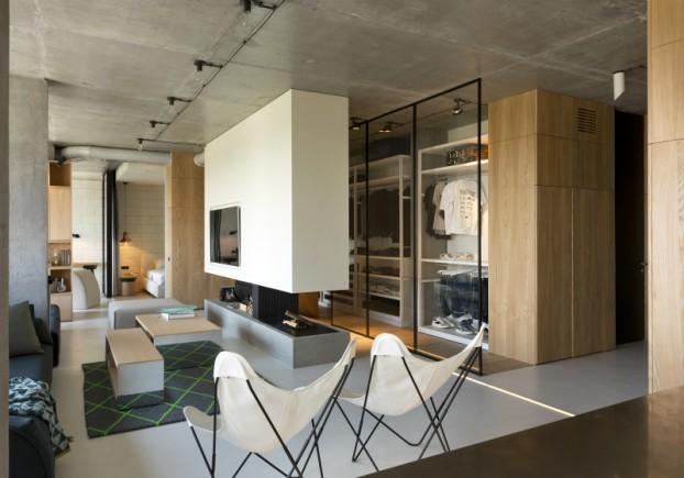 unique contemporary modern penthouse interior design 5