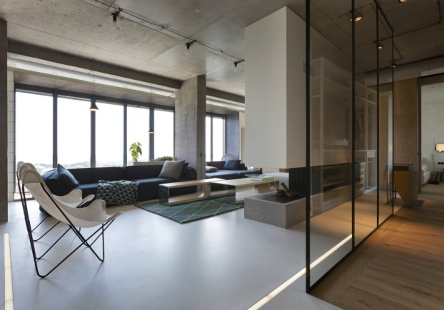 unique contemporary modern penthouse interior design 6