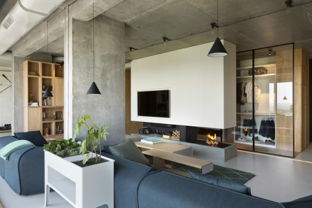 unique contemporary modern penthouse interior design
