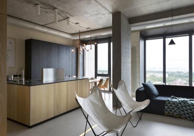 unique contemporary modern penthouse interior design 7