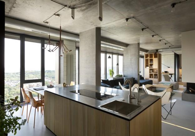 unique contemporary modern penthouse interior design 8