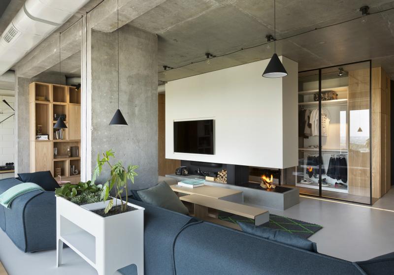 Interesting Contemporary Penthouse With Unique Design - Decoholic