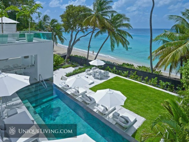 Avant-garde Luxury Beach Front Villa On Barbados 5