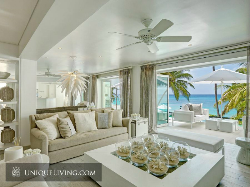 Avant-garde Luxury Beach Front Villa On Barbados