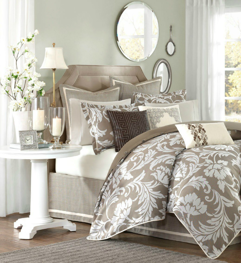 Unique Earth Tone Color Palette Bedroom Ideas