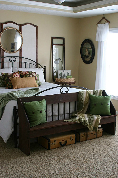 ... Earth Tone Color Palette Bedroom Ideas 20 ...