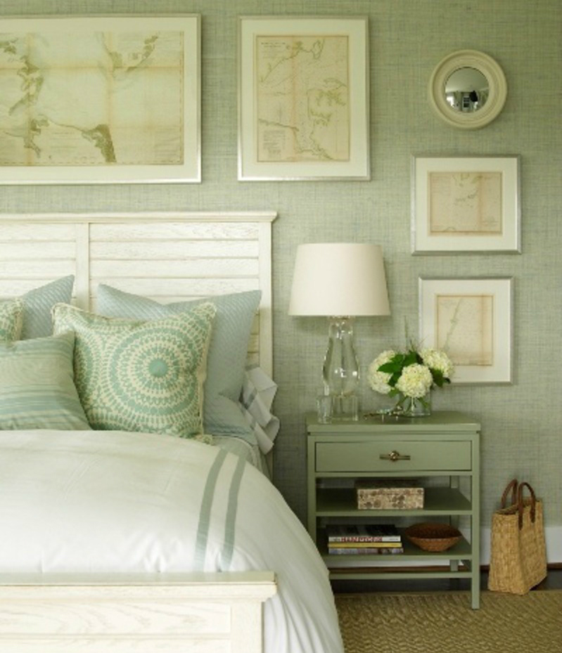earth tone color palette bedroom ideas 3 - Green Bedroom Decorating Ideas
