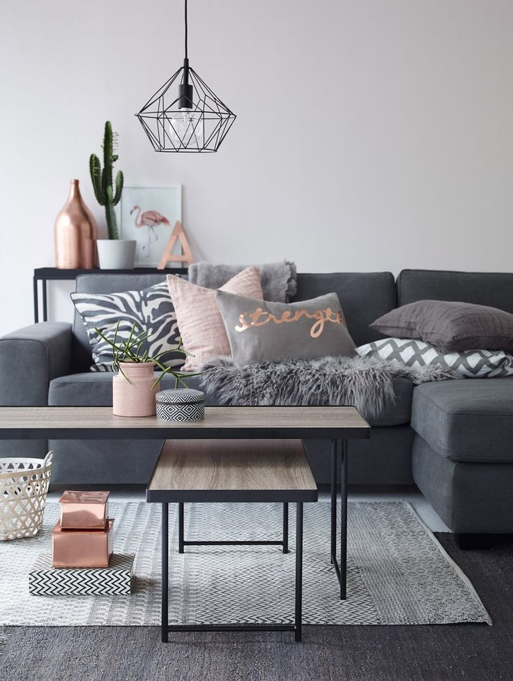 Black And Grey Living Room Decorating Ideas.How To Decorate With Blush Pink Decoholic