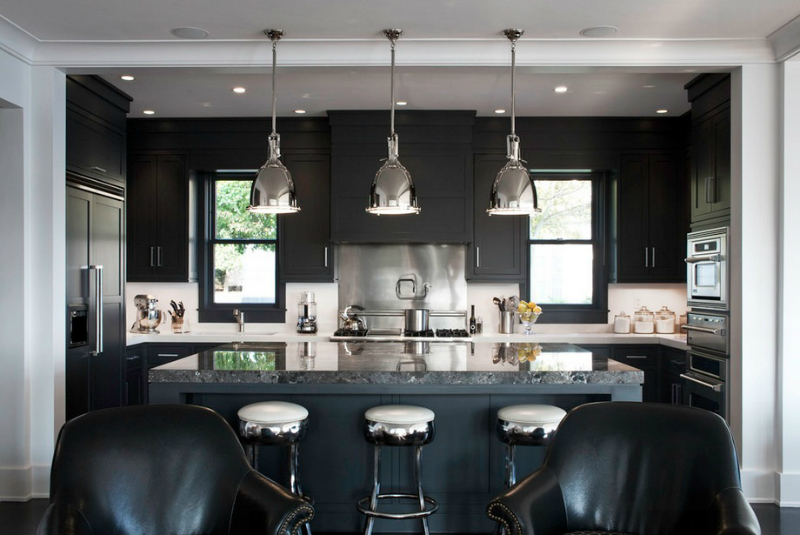 kitchen lighting ideas 19 - Black Kitchen Lights