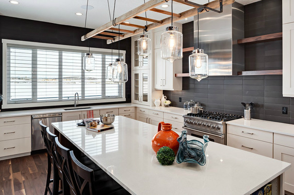 Kitchen Lighting Ideas Decoholic - Cheap kitchen lighting ideas