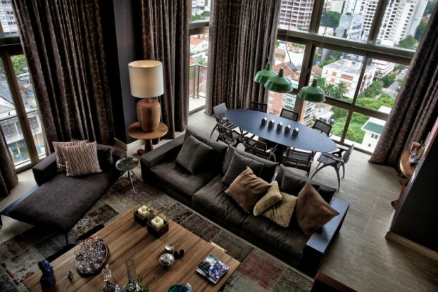 Luxury and Dramatic Contemporary Apartment 4