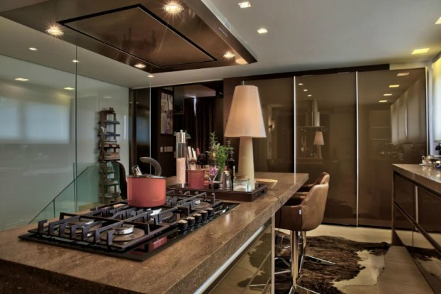 Luxury and Dramatic Contemporary Apartment 5